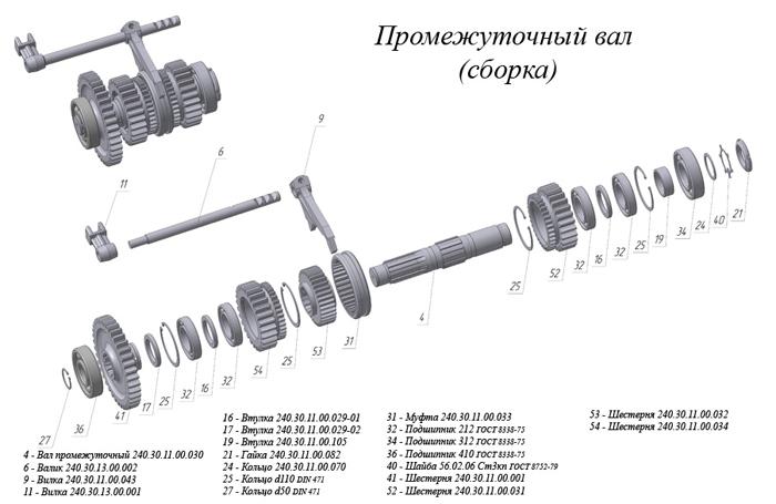 Дз 180 схема коробки передач фото 154